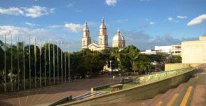 церковь на площади Армении в Колумбии