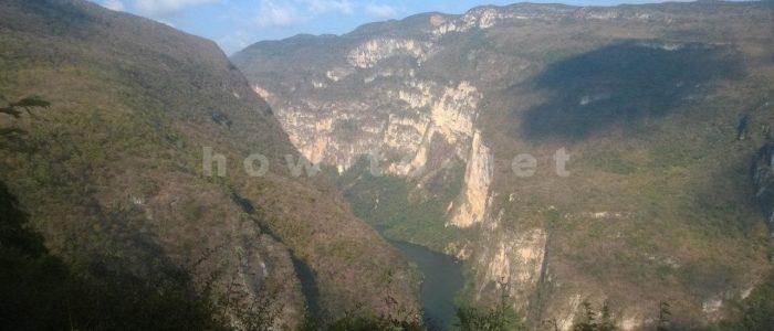 Обзорная площадка каньона Сумидеро