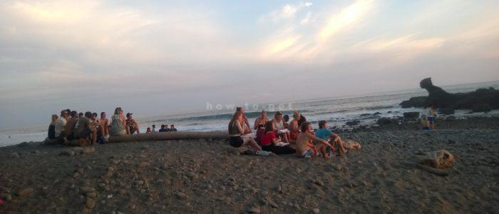 побережье океана в эль Тунко