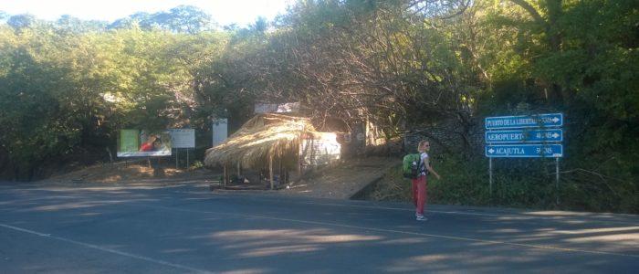 перекресток в Эль Тунко на Акахутлу