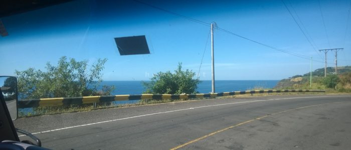 Дорога из Эль Тунко в Гватемалу