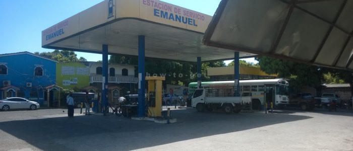дорога из ЭльТунко в Гватемалу до границы