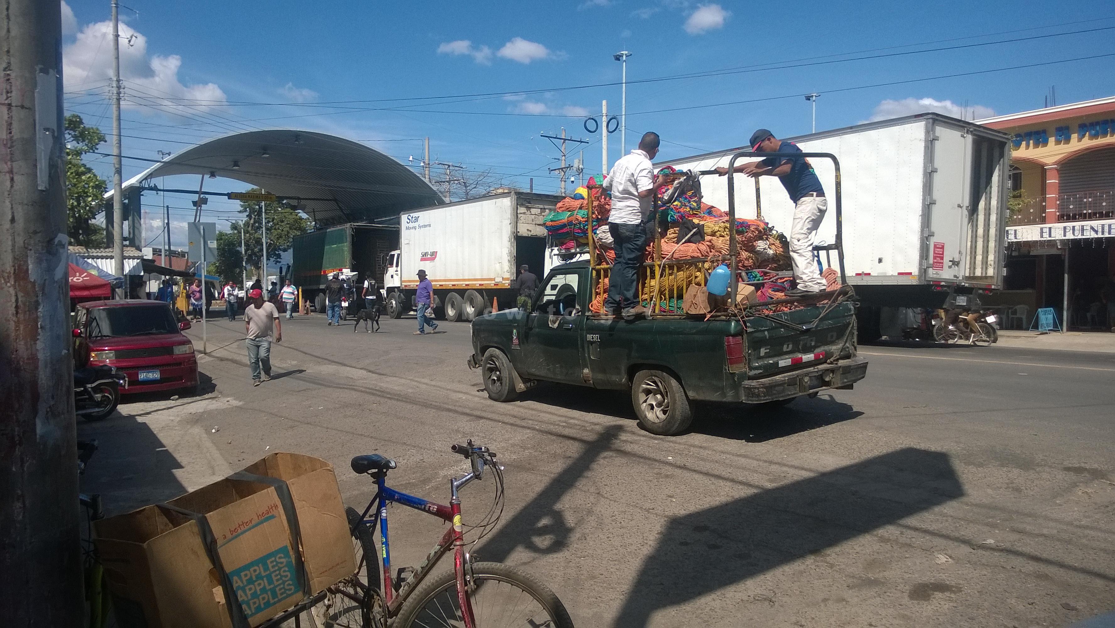 Граница Сальвадор- Гватемала