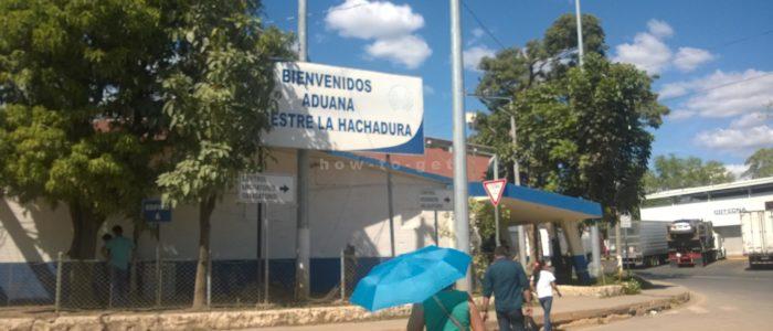 граница Сальвадор Гватемала