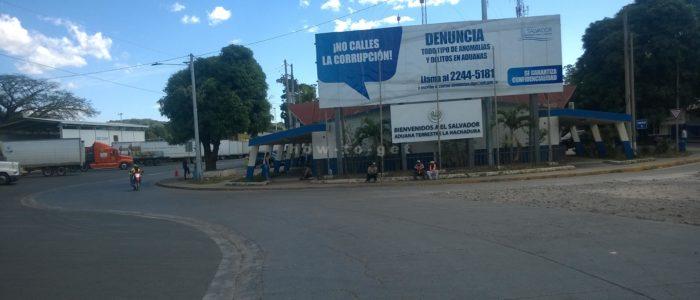 граница между Сальвадором и Гватемалой