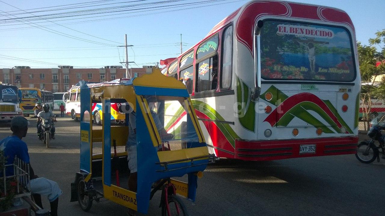 Автобус до автовокзала в Картахене