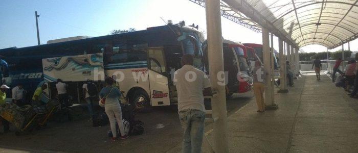 Автобусы компании Rapido ochoa