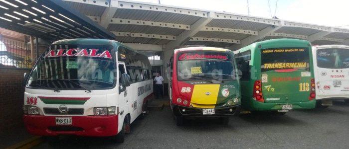 автобус из Армении, Колумбия