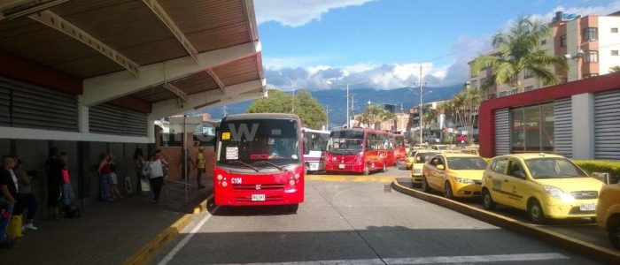 автовокзал в Армении, Колумбия