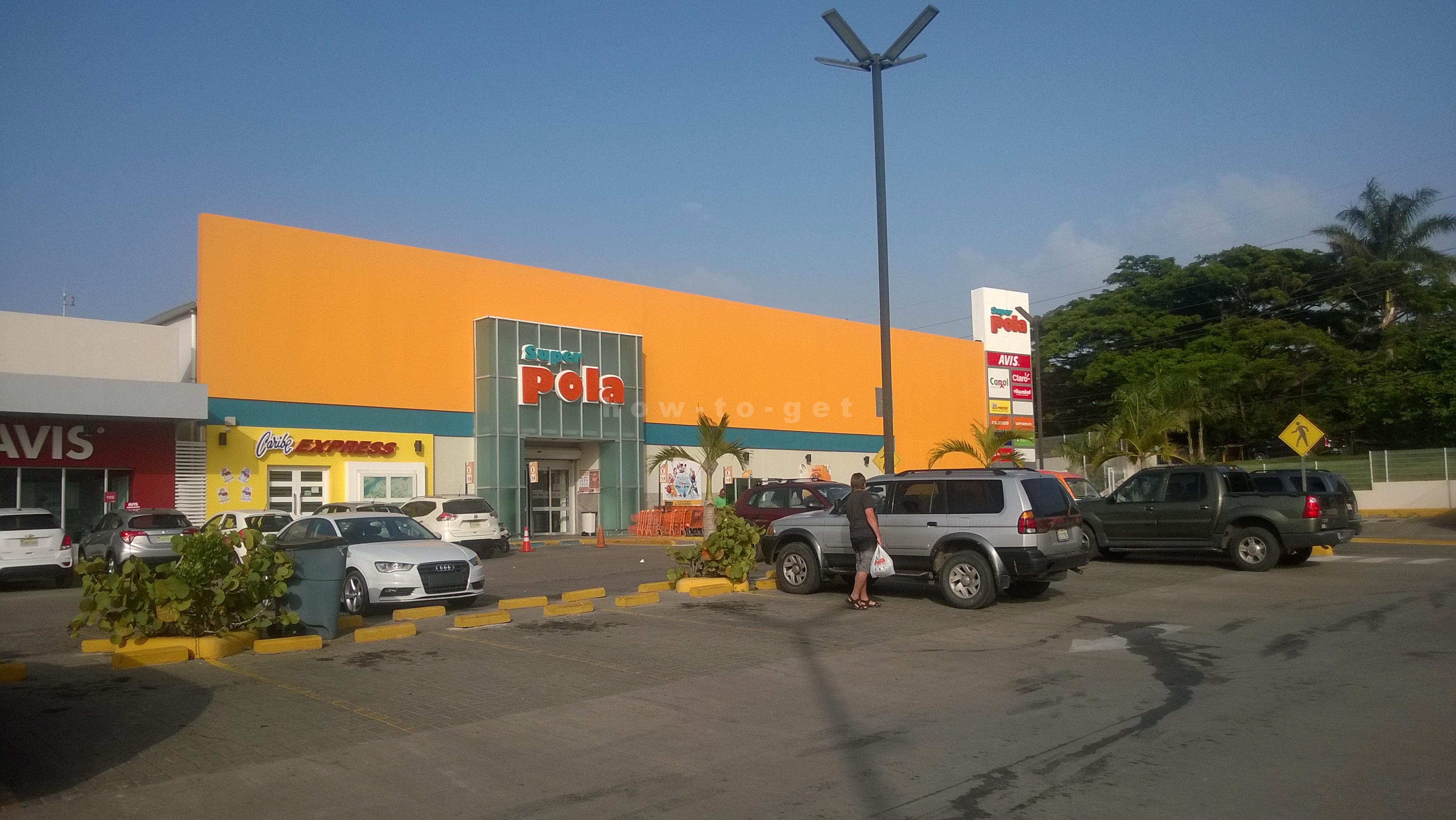supermarcet в поселке Сосуа