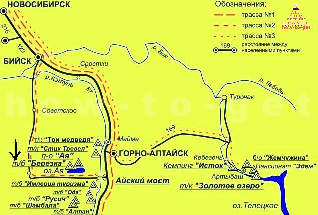 вход на территорию азера Ая через базу Березка