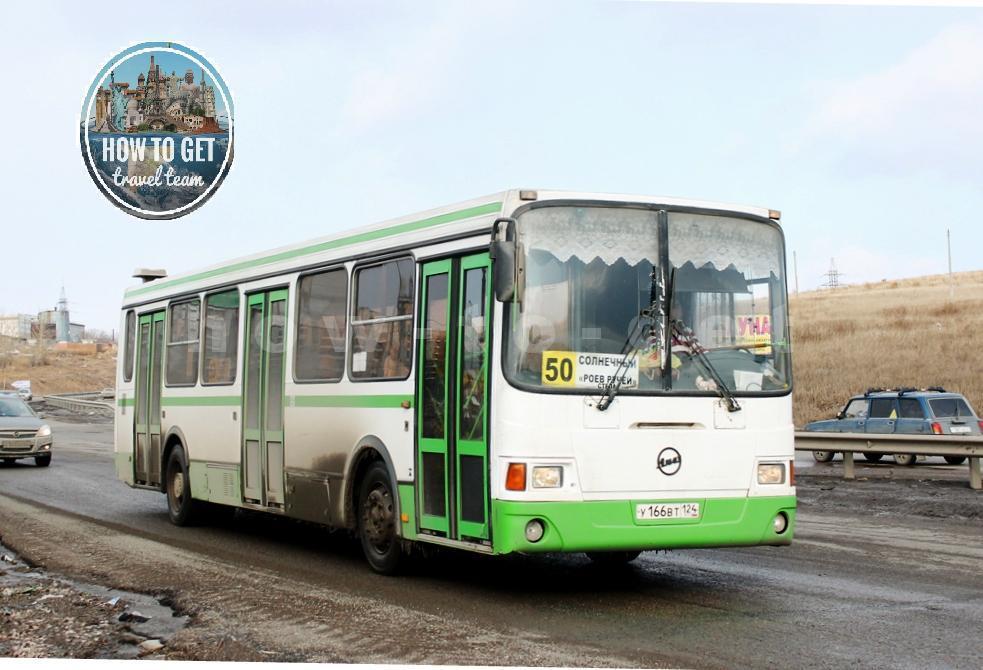 Автобус из Красноярска до Красноярского заповедника.