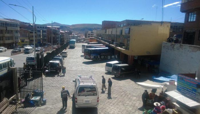 автобусы Потоси Боливия