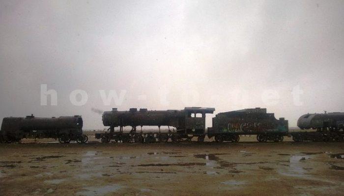 Кладбище паровозов, боливия