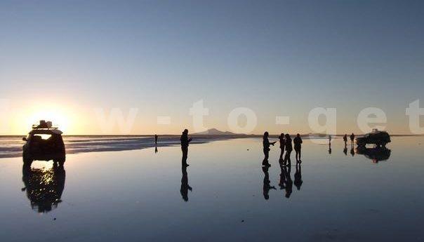 Зеркало Уюни в Боливии