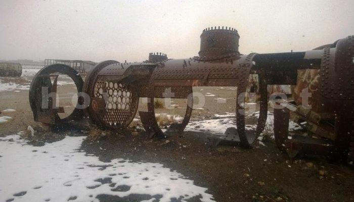 Паровозы в Уюни, Болифия, фото