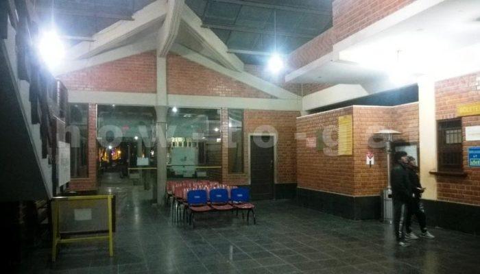 железнодорожныи вокзал Уюни, Боливия