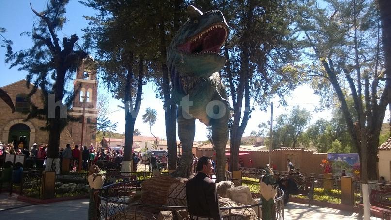 динозавры в Боливии