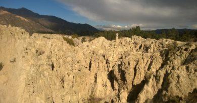 лунная долина в Ла Пасе