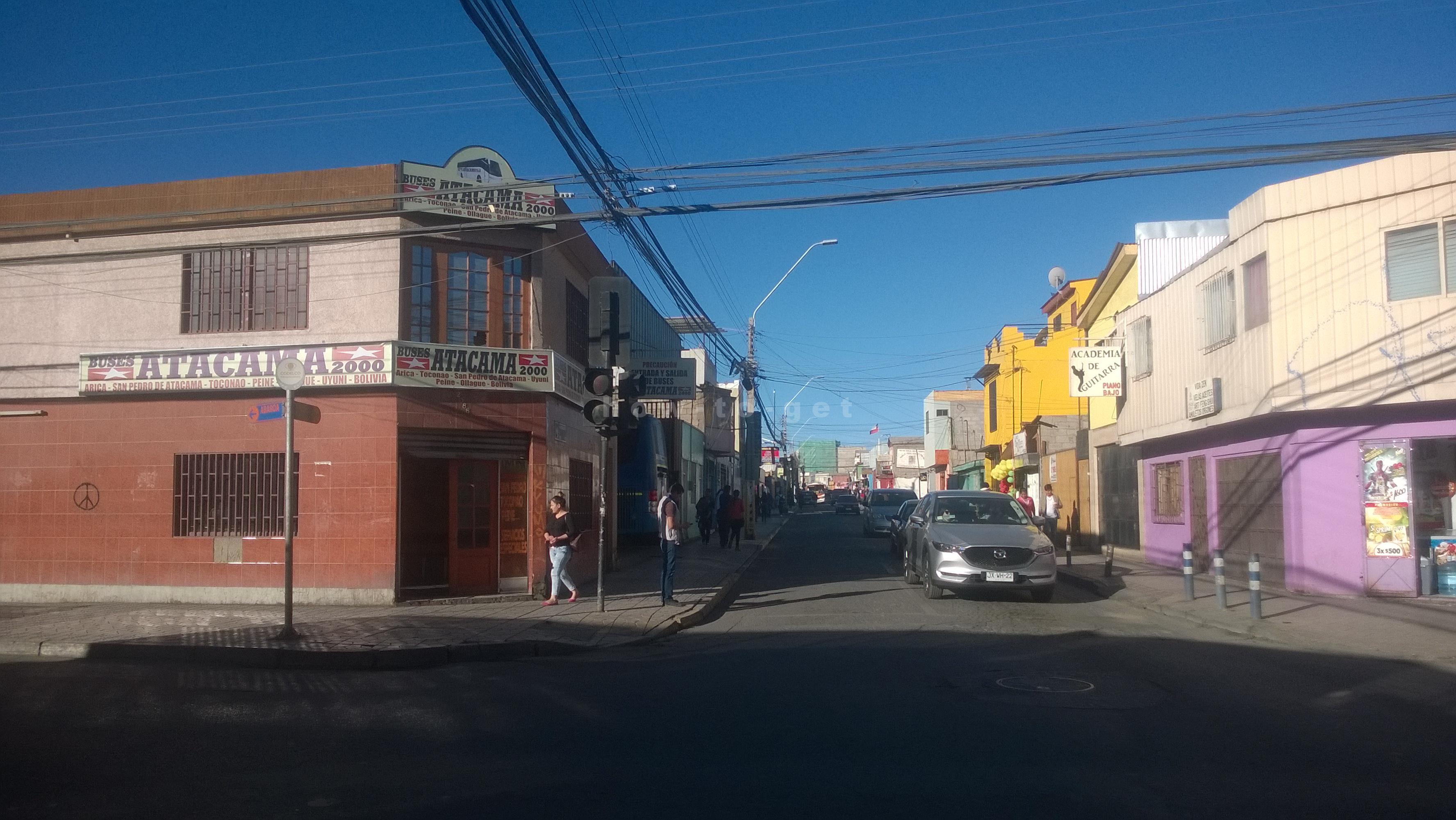 автобусы на границу Боливия Чили