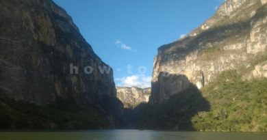 How to get to Sumidero canyon in Mexico